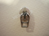 auto lock slider with flat type ring for No. 3 polyester zipper